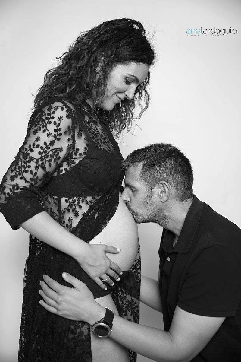 Fotografía de embarazada